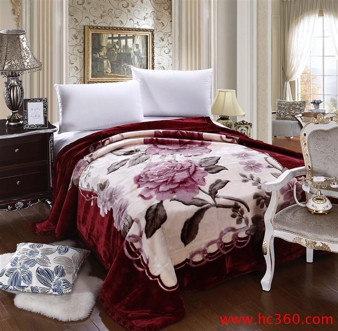 拉舍尔毛毯10